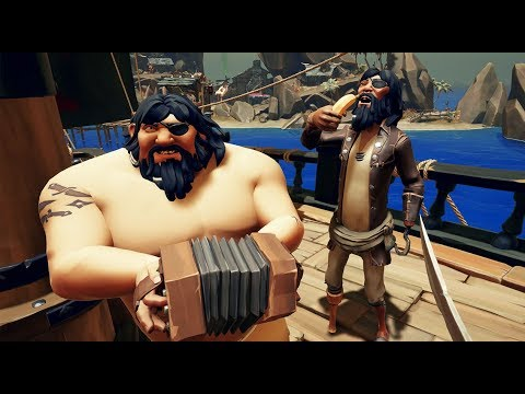 PIRATAS MUY RETRASADOS XD - sea of thieves- Nexxuz
