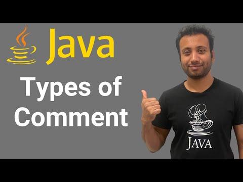 java-bangla-tutorials-6-:-comments