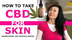 How to Take CBD Oil for skin  Topical vs Oral