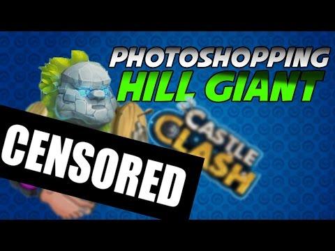 Castle Clash Photoshopping Part 2!