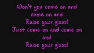 Pink - Raise Your Glass - Lyrics