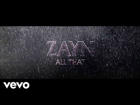 ZAYN - All That (Audio)