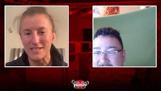 LFA 93 Women's Straweight Sam Hughes Fightlete Report Interview