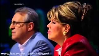 Алексей Чумаков в образе Стинга  Шоу Один в один 19.05.13