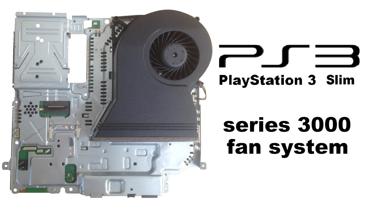 playstation 3 slim fan system how to disassemble cech 30xxa b rh youtube com ps3 slim repair guide pdf Open PS3 Slim