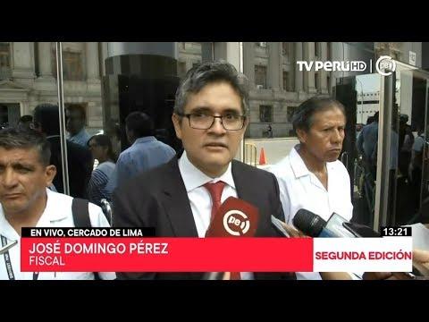 Fiscal Domingo Pérez pide abrir investigación a Lourdes Flores