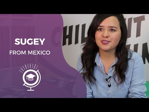 SEDA Scholarship Programme - Sugey from Mexico