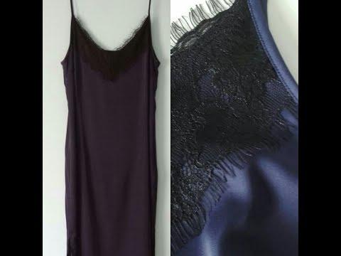 Платье комбинация, один из множества способов пошива  1 часть