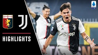 Genoa 1-3 Juventus | Stunning Strikes From Dybala, Cr7 & Douglas Costa! | Serie A Highlights