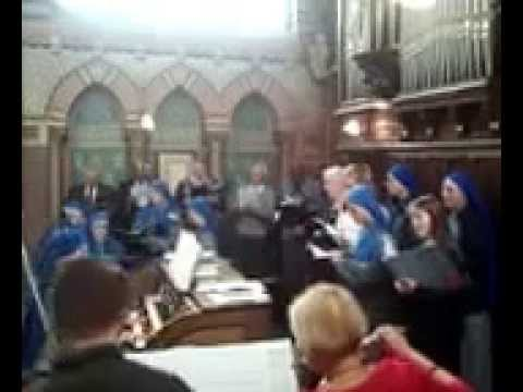 Hallelujah Handel Messiah - IVE sisters and Marie Juliette - classic soprano 10yo girl - 2013