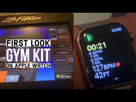 Sync Apple Watch To LifeFitness Equipment