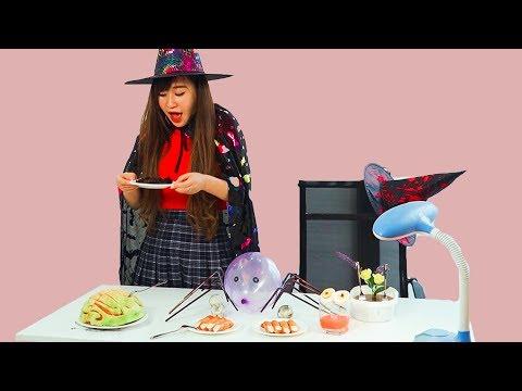 FUNNY DIY HALLOWEEN PRANK WARS! DIY Halloween Food Hacks Pranks   Halloween Recipes and Decorations