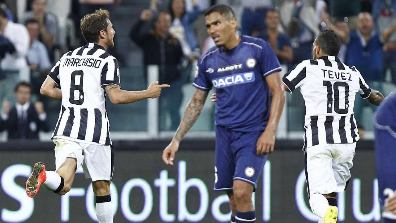 Juventus Udinese 2 0 13 09 2014 Youtube