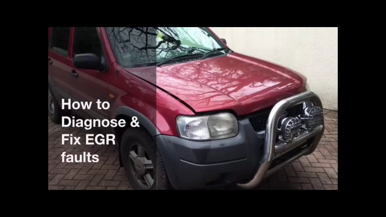 How To Diagnose And Fix Egr Faults Ford Maverick Escape Mazda 2004 Oxygen Sensor Location Tribute Maybe Others