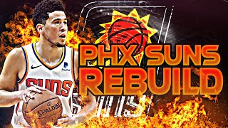 BLOWING UP THE SUNS REBUILD! (NBA 2K20)