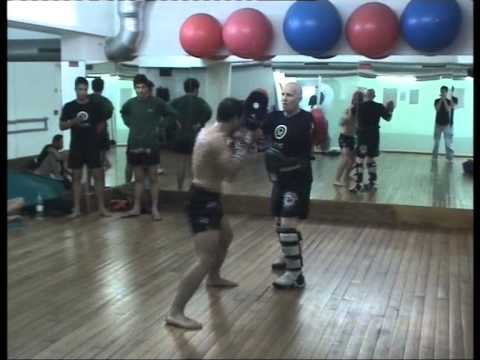 Fred Royers with Raul Lemos - Knock-Out Health Club Seminar