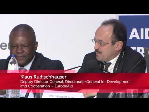 European Development Days 2013 - Aid for trade, trade for aid: What's the new deal? - Auditorium