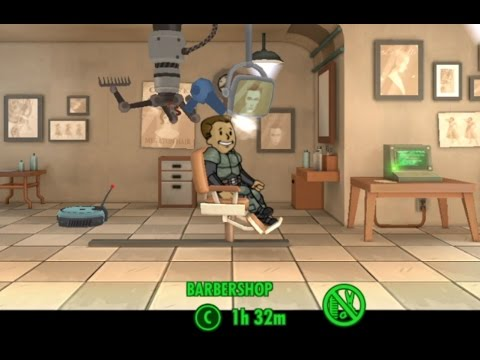 Fallout Shelter 1.4 Update: Weapon And Outfit Crafting