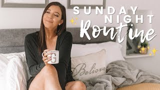 SUMMER SUNDAY NIGHT ROUTINE 2018 | PREPARING FOR THE WEEK AHEAD