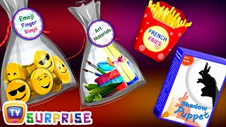Kids Learn New Gift Objects with Egg Finger Family Song - ChuChu TV Surprise Eggs Learning Videos