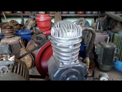 Компрессор СО-7  220 Вольт, качает до 10кг не напрягаясь (1,1кВт 1500об/мин)