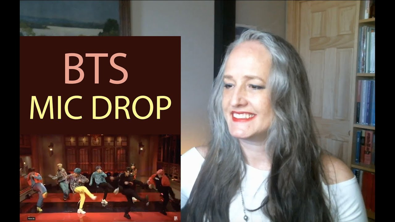 Voice Teacher Reaction to BTS Mic Drop SNL