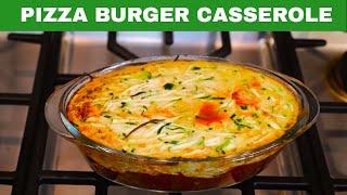 Ideal Protein Diet - Pizza Burger Casserole