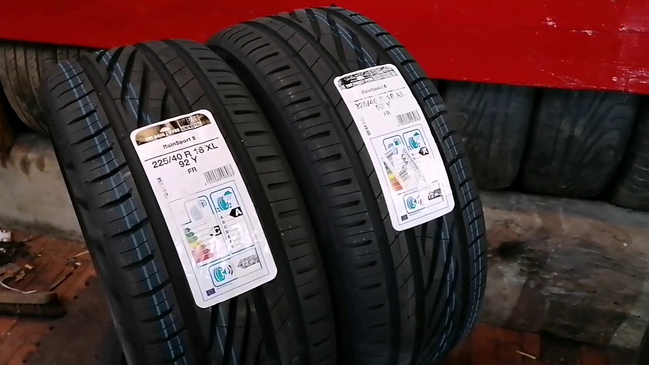 1 x Uniroyal RainSport 5 225//45//17 91Y Performance Road Tyre