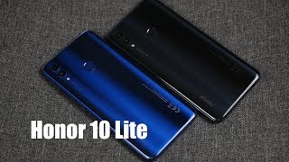 Обзор Honor 10 Lite - NFC, дизайн и не дорого