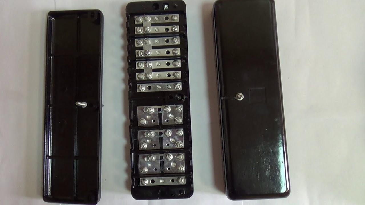 ИКК, испытательная клеммная коробка