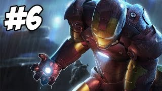 Iron Man Walkthrough | Flying Fortress | Part 6 (Xbox360/PS3/PC/Wii)