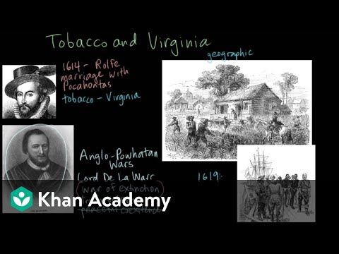 Jamestown - The Impact Of Tobacco