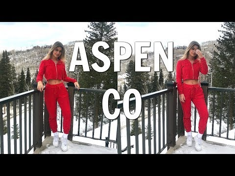 A WEEKEND IN MY LIFE | Aspen, Colorado (travel with me vlog)
