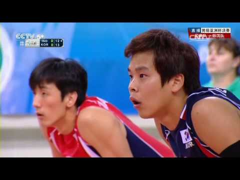 India Vs South Korea l Asian Men's Cup Volleyball Championship 2014 l Final Championship