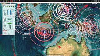 7/22/2018 -- Global Earthquake Forecast -- Expect Global increase -- W. Pacific + USA on watch