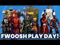 Fwoosh play day customs 3d prints third party and official items for a 6inch display 051321