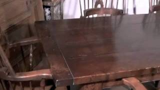 Refectory Table Windsor Chair Dining Set