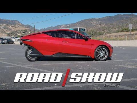 Sondors EV prototype drive