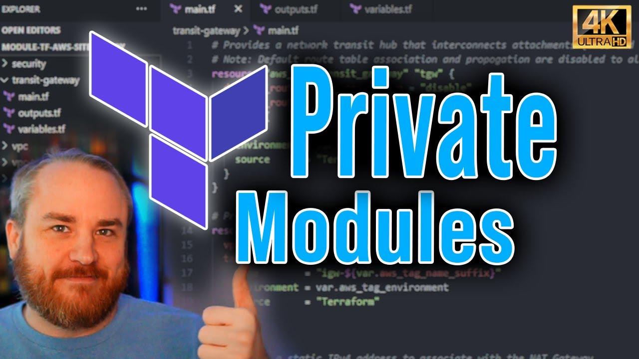 Importing Private Terraform Modules