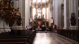 St.Stephen Cathedral in passau  パッサウ聖Stephen大聖堂 2014 10、4