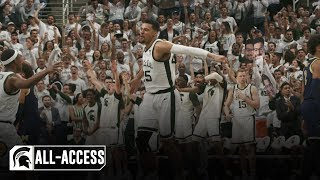 S1 ep.28michigan state men's basketball takes on michigan senior night with a shot at winning the big ten title. ©2019 conference, inc.