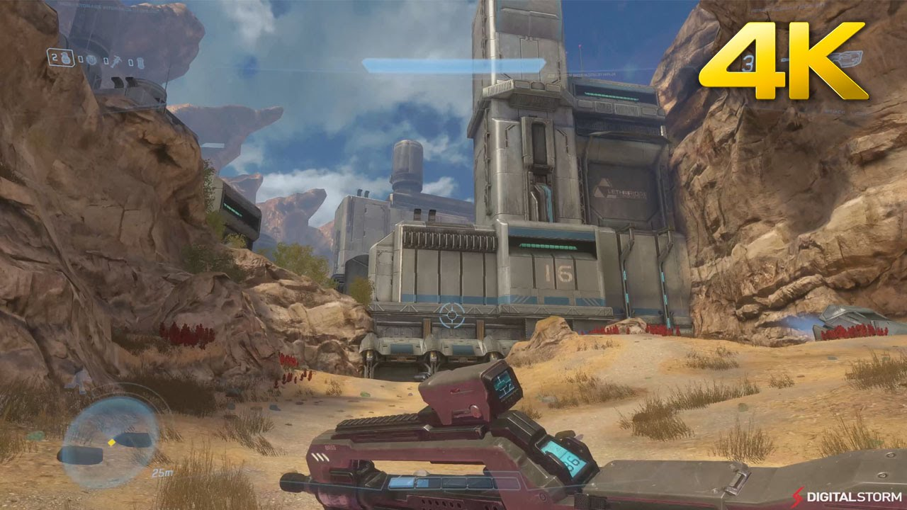 Halo Online Pc 4k Gameplay Avalanche Map Youtube