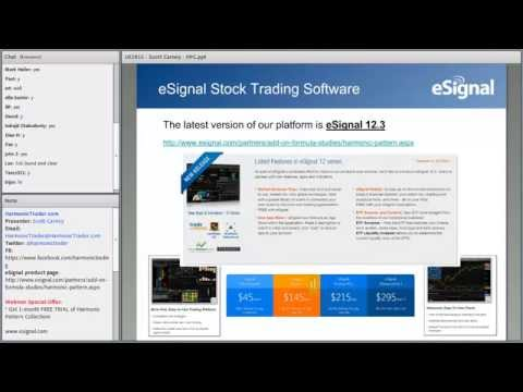 Trading Webinar: Trading Precision with the Harmonic Pattern Collection for eSignal