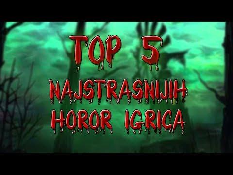 TOP 5 najstrašnijih horor igrica!