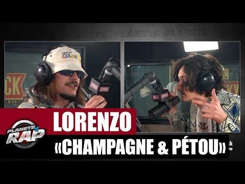 Lorenzo 'Champagne & Pétou' Feat. Charles Vicomte #PlanèteRap