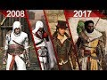 Evolution of Assassin's Creed | PC | ULTRA | 2008 - 2017*