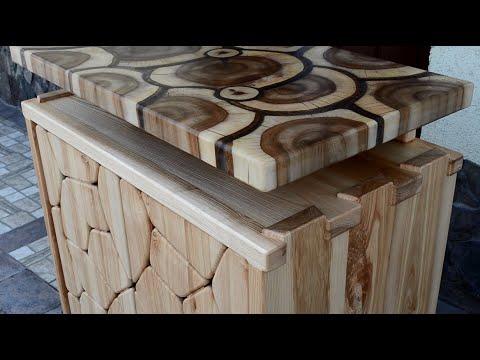 Ash and Walnut Sideboard