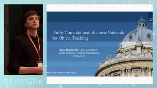 Fully-Convolutional Siamese Networks for Object Tracking (overview)