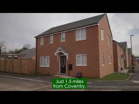 New One Two Three Four And Five Bedroom Homes For Sale In Coventry Persimmon Homes Paragon