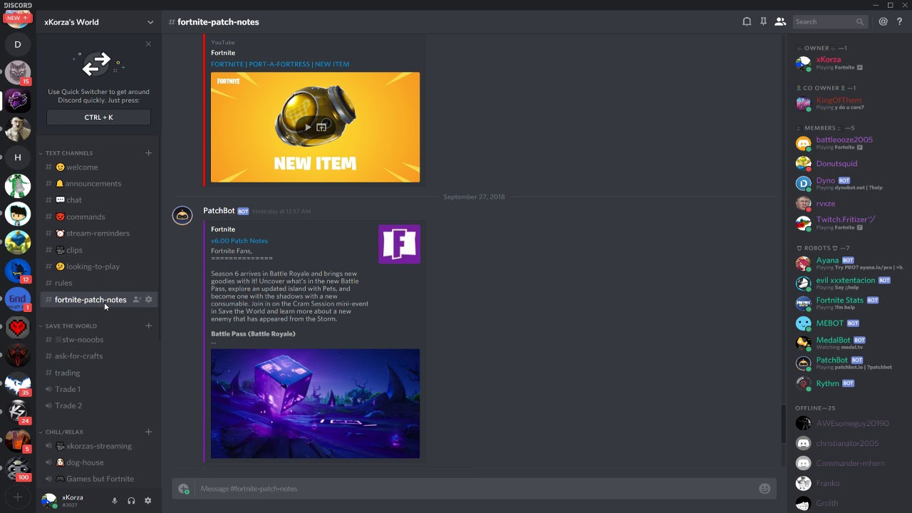 Fortnite Discord Server | Fortnite - 1 000 V-bucks Pc